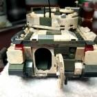 Bradley Tank Mixed up with Green Bricks Ver.1
