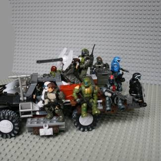 Image of: Modified ODST Warthog