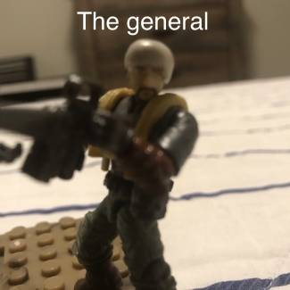 Image of: The general