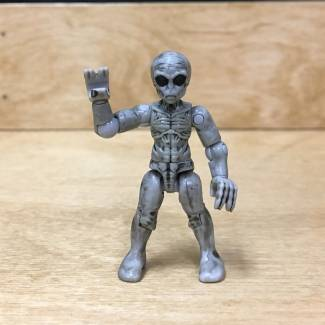 Image of: First Look: MCX Heroes Series 5 X-Files Alien