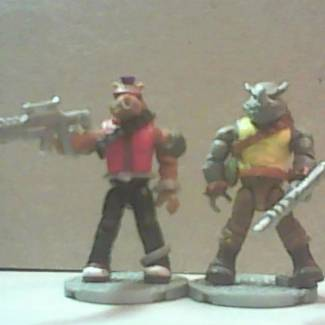 Image of: bebop and rockstedy