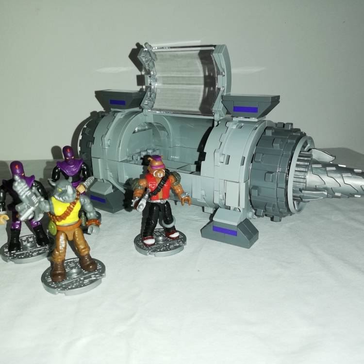Image of: TMNT Transport Module