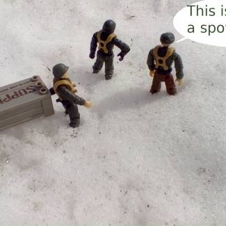 Image of: Snow Outpost