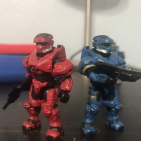 Red and Blue EOD customs
