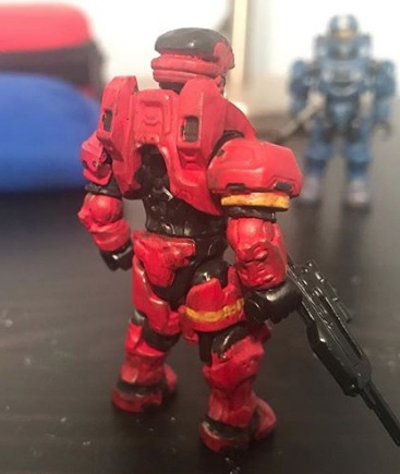 Image of: Red and Blue EOD customs