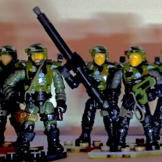 Image of: Colonial Marines Kit-Bash