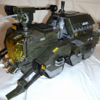 "Image of: Halo Wars 1 UNSC M312 Elephant Troop Carrier, ""signature level"" rebuild!"