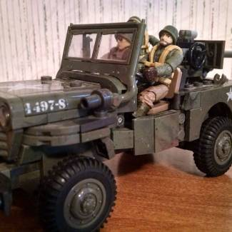Image of: 37mm Anti-Tank Jeep