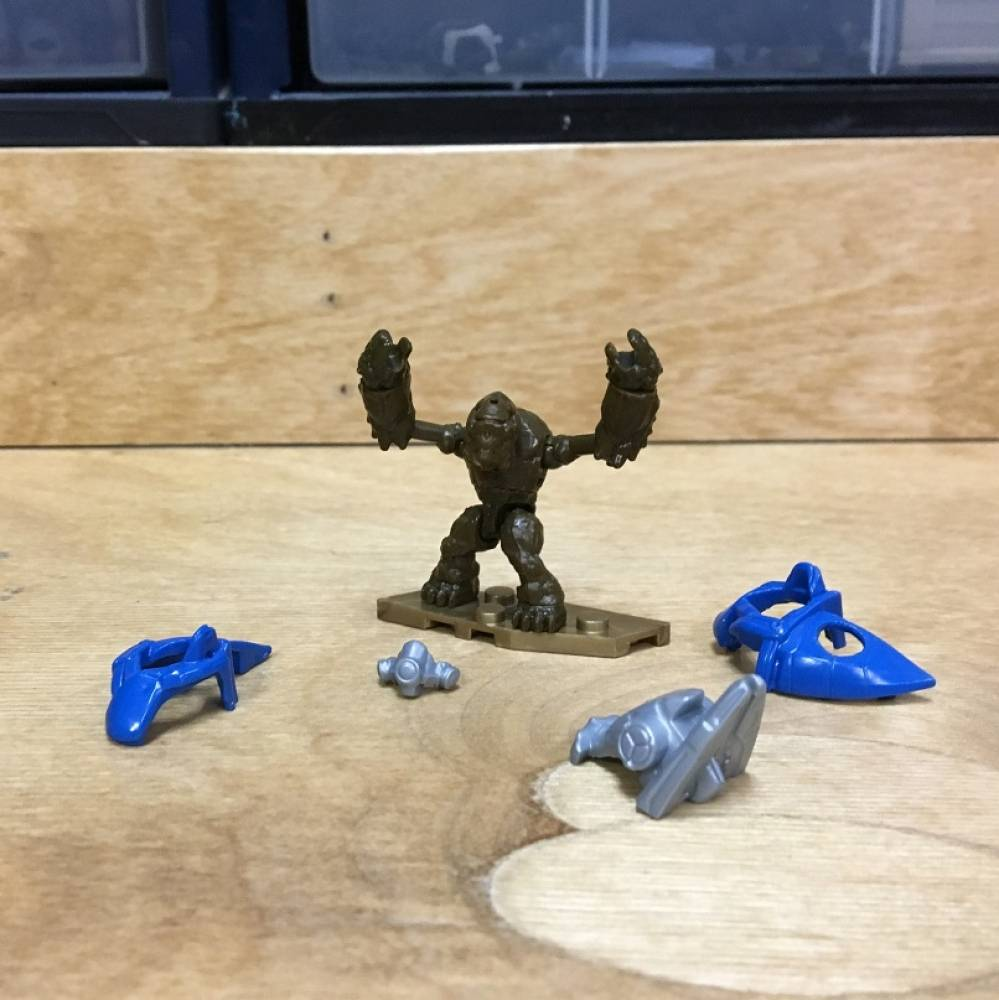 Image of: First Look: Halo 10th Anniversary Blind Bags - Grunt and Brute
