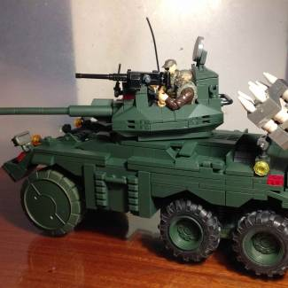Image of: Extended Fox AFV