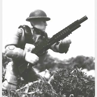 """Image of: WWI US """"Doughboy"""" Soldier"""