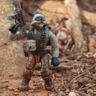 Image of: Custom Weathered COD Soldier