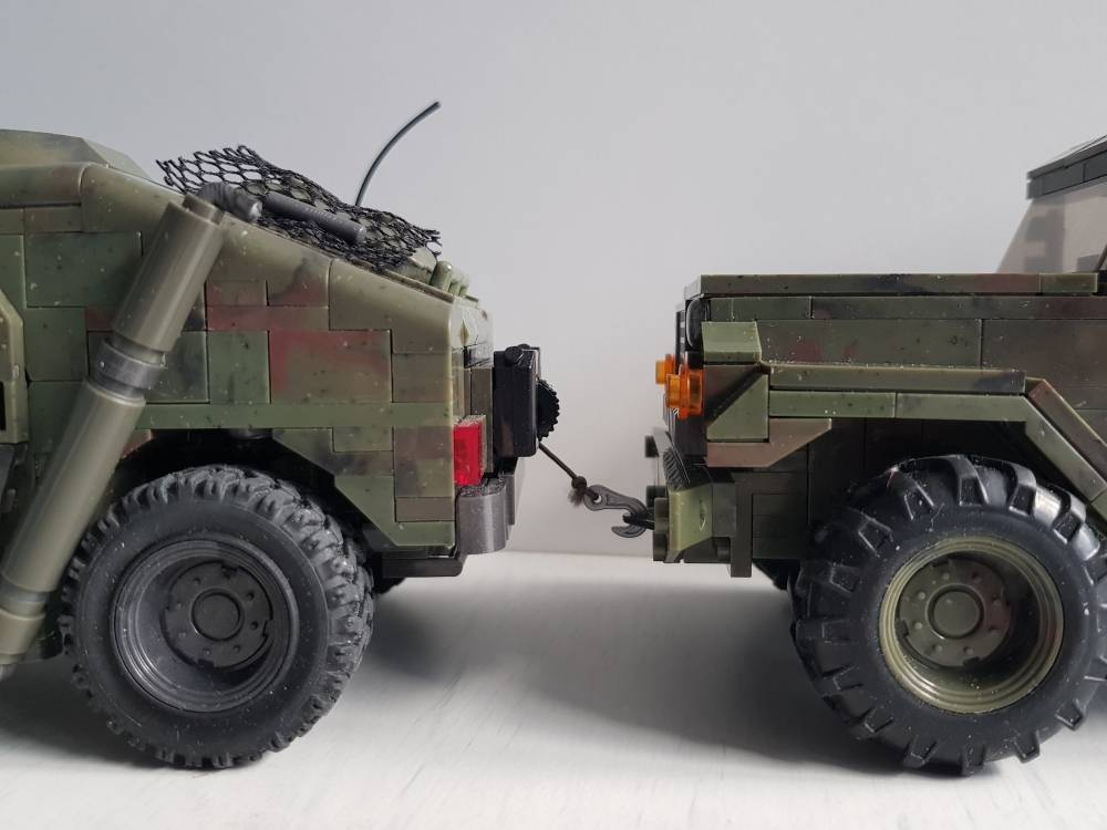 Image of: CoD MOC Military Truck