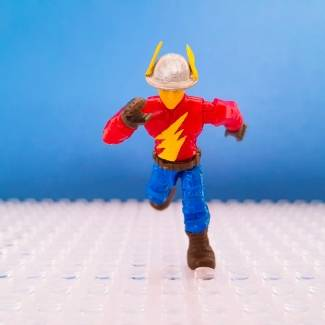 Image of: Custom Figure - The Flash Jay Garrick