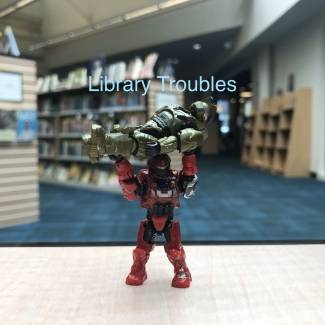 Image of: Halo Shenanigans: library troubles