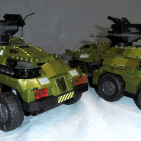 Halo Wars UNSC Cougar AFV custom build