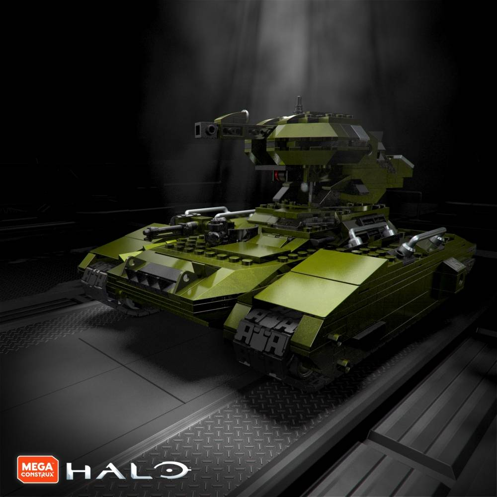 Image of: Another Look: Halo 10th Anniversary Designer Series: UNSC Scorpion Tank