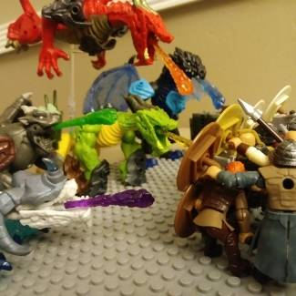 Image of: Vikings vs Breakout beasts