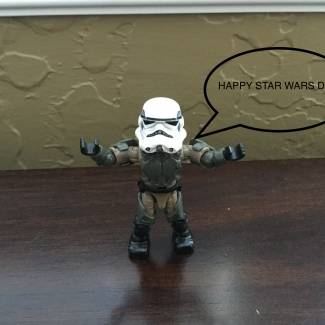 Image of: Star wars day and NEW CUSTOM!!!