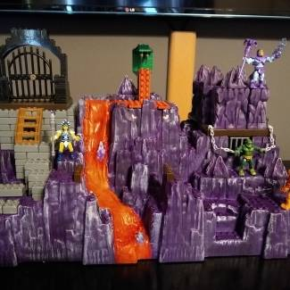 Image of: MOTU Snake Mountain