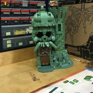 Image of: Building Castle Grayskull