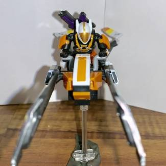 Image of: Modified EV--38 Laurelbearer Sparrow and Custom Figure