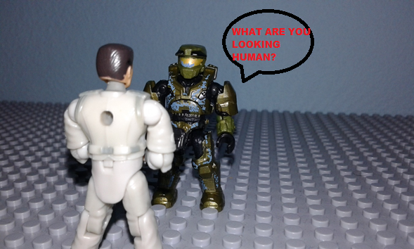 Image of: Halo CE Anniversary (funny moments) mission : Pillar of Autumm part 4