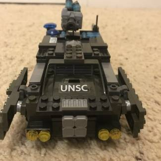 Image of: UNSC Bearcat Cryonier (Variant E)