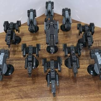 Image of: Halo Ships with Custom Command Ship