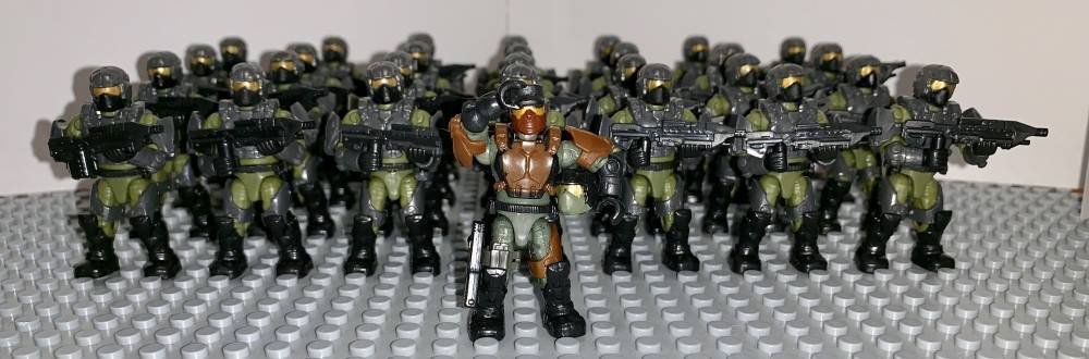 Marines (or B.P.R.D Agents is what I use them for)
