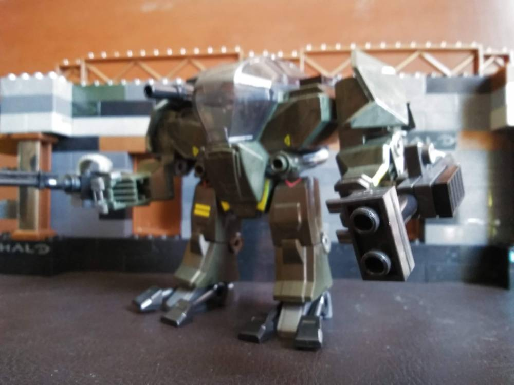 Image of: Customized UNSC Siege and Incinerator Cyclops