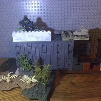 Image of: Post apocalyptic house!