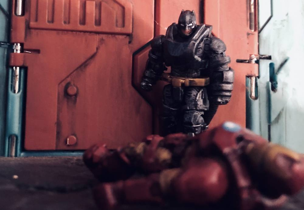 Image of: Armored Batman