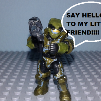 Image of: Halo CE Anniversary (funny moments) mission : Assault on the control room part 8