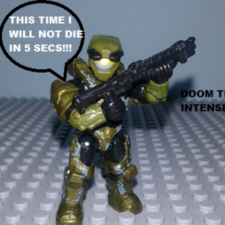 Image of: Halo CE Anniversary (funny moments) mission : The library part 2