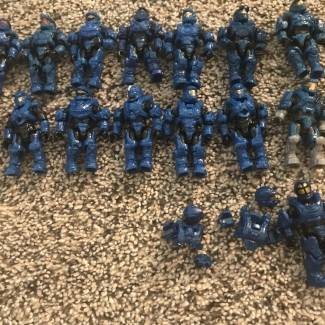 Image of: Close Up of My Collection: Spartans Pt 1