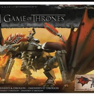 Image of: Mega Construx Black Series GoT Daenery and Drogon revealed!