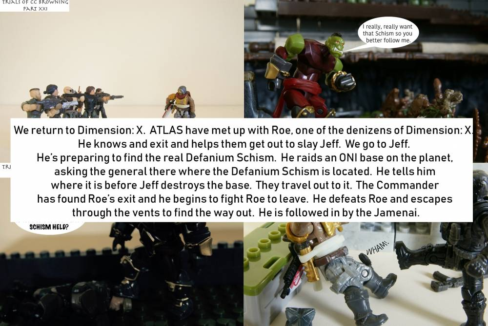 Image of: Re-caps part VI: Trials of CC Browning