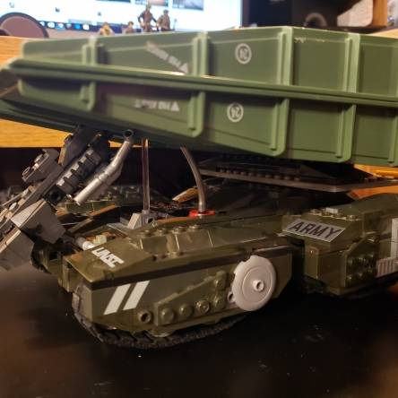 Image of: Scorpion mbt engineer Bridgelayer mocks wip