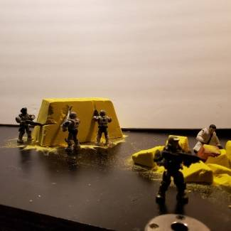 Image of: Unsc miners mining for possible gold and minerals