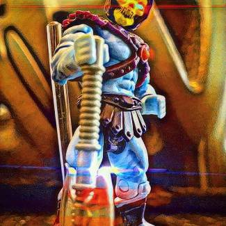 Image of: Skeletor!