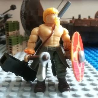 Image of: Custom viking