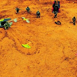 Image of: ODSTs drop on Sanghelios during the Great Schism of the Covenant