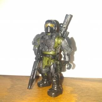 Image of: Custom Marines (complete with awful lighting!)