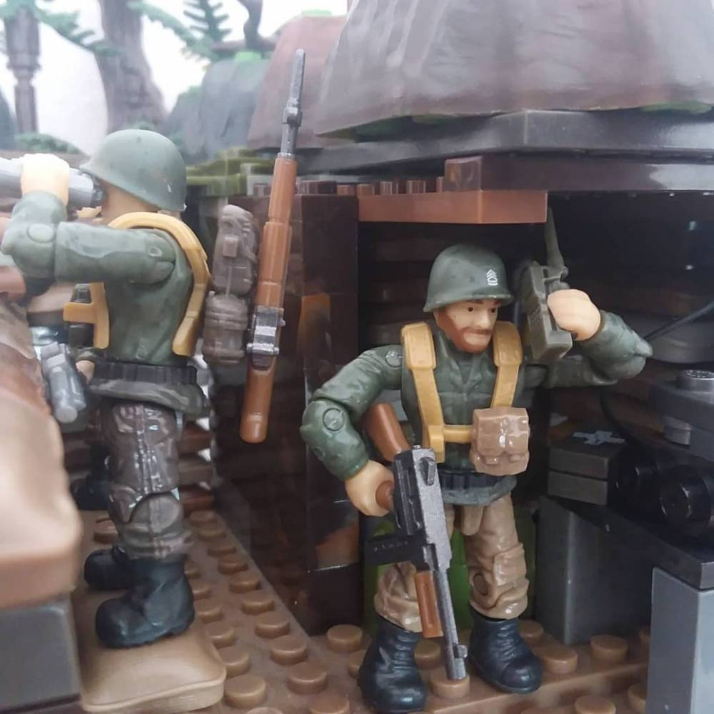 Image of: WWII Trench
