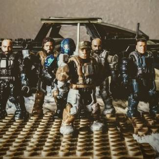 Image of: ODSTs of Fort Calterra