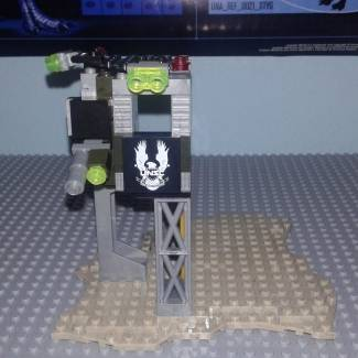 Image of: Halo MOC Sniper tower