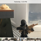 Image of: Fight for the flag(stop motion)