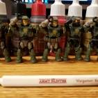 Halo Mega construx figures + The Army Painter=awesome customs part 2