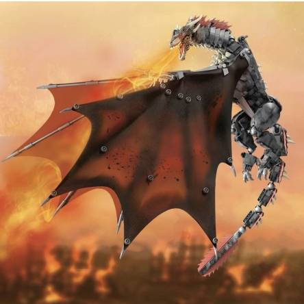 This new GOT dragons looks great